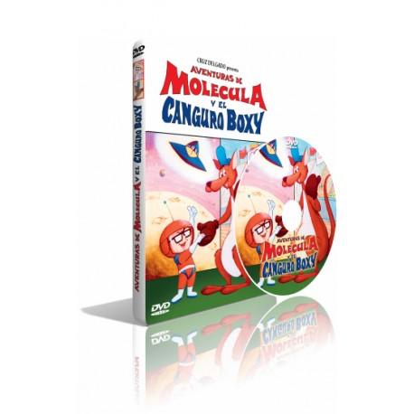 DVD Aventuras de Molécula y el Canguro Boxy