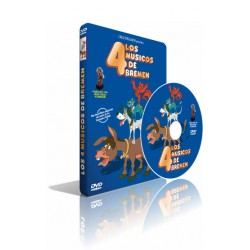 DVD Los 4 músicos de Bremen