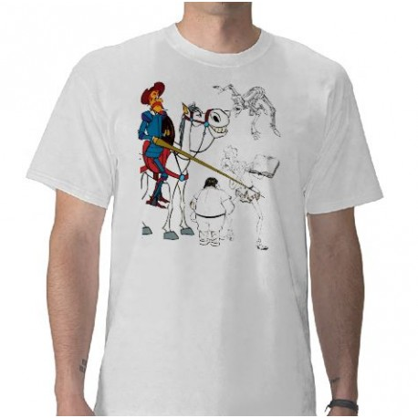 DON QUIJOTE - camiseta - Cervantes